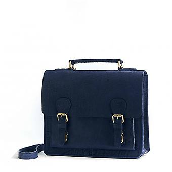 The Bold (S) - Navy - Bubble Leather