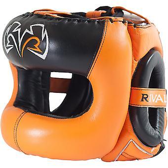 Rivaal boksen Guerrero Facesaver hoofddeksels - oranje