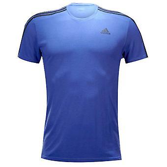 Adidas Originals Mens Sport Essentials Logo Erkek Tişört Mor S17658
