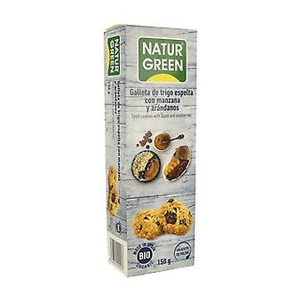 Spelt with Apple and Blueberries Biscuits Bio 150 g