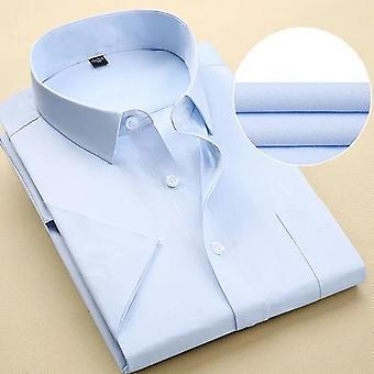 Men's Kortärmad skjorta med enstor bröstficka