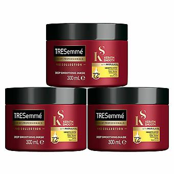 TRESemme Keratin Smooth Pro Collection Masque capiif, 3 Pack, 300ml