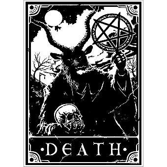 Dödliga Tarot Death Mini Affisch