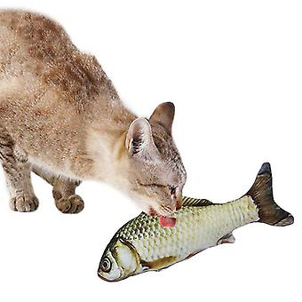 3d-fish Shape, Interactive Catnip, Stuffed Pillow Doll, Fish Playing Toy