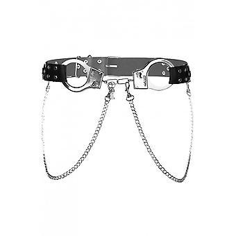 Attitude Clothing Handcuff Chain Belt