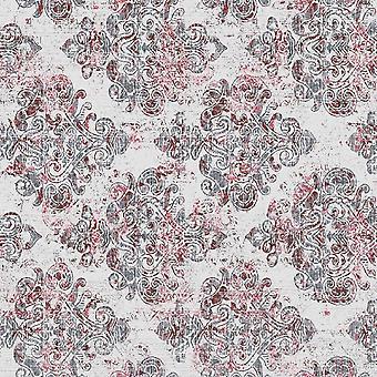 Tendências Étnicas 4 Tapete Impresso Multicolorido em Poliéster, Algodão, L80xP150 cm