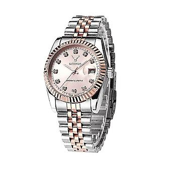Ladies Watch Rose Gold Silver Women Woman Smart Watches Two Tone Present