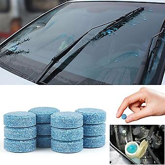 Car Windshield Wiper Glass Washer Auto Solid Cleaner Compact 60 Effervescent Tablets Window Repair Car Accessories