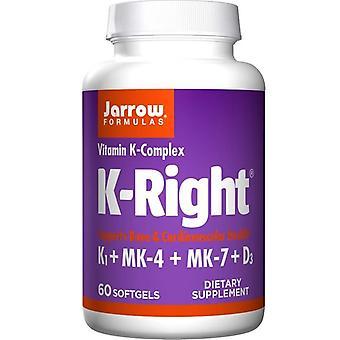 Jarrow Formules K-Right Softgels 60