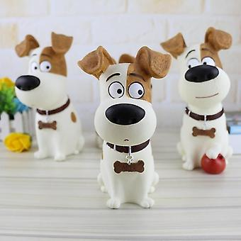 Cute Mike Dog Piggy Bank, Figurines Pet Coin Box