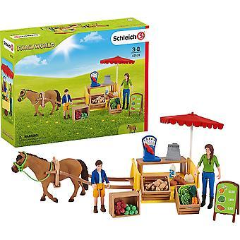 Schleich Farm World Sunny Day Mobile Farm Stand