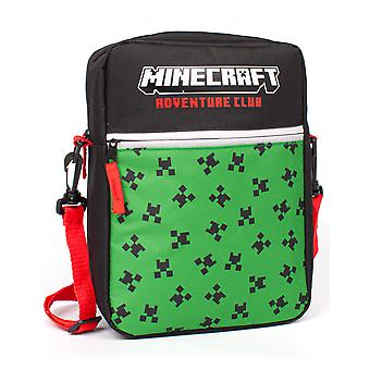 Minecraft Bag For Kids | Boys Girls Creeper Face Crossbody Handbag | Game Merchandise With Adjustable Strap One Size