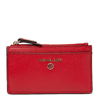 MICHAEL Michael Kors Jet Set Slim Card Case Bright Red