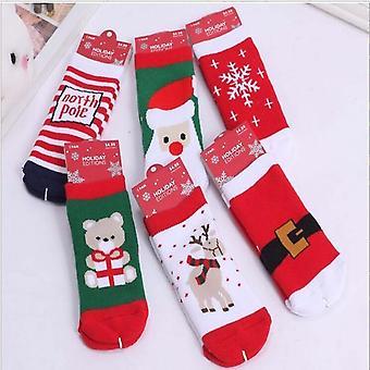 Puuvilla joulun sukat