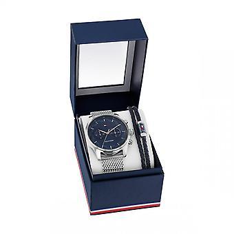 Tommy Hilfiger Herenhorloge 2770102 - Zilveren Stalen Armband