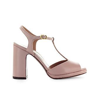 L'autre Chose Powder Pink Leather Sandal