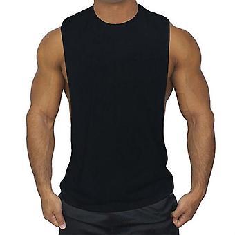 Gilet de course, Sport Sport Gym Top Open Side Sleeveless T-shirt