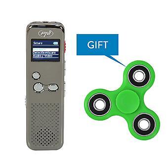 PNI RedStone 1080P 8GB Video Audio Recorder + Green Speedy PNI Speedy Green