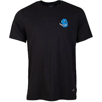 Paul Smith ansikt logo vanlig passform crew hals t-skjorte