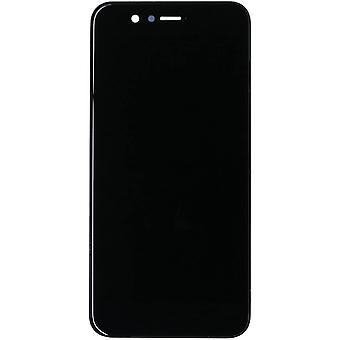 FengChun LCD Display Kompatibel mit Huawei Nova 2 PIC-AL00, PIC-TL00, PIC-LX9 (Schwarz with Rahmen)