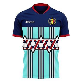 Belgium 2020-2021 Goalkeeper Concept Football Kit (Libero)