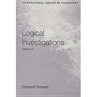 Logische Untersuchungen: v.2 (International Library of Philosophy)