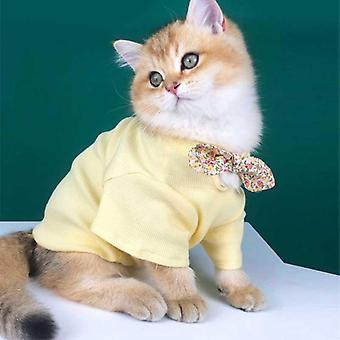 Pet clothing summer thin breathable cat clothes