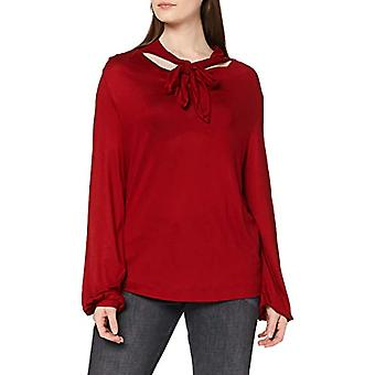 ESPRIT Collection 120EO1K305 T-Shirt, 610/Dark Red, XXL Woman