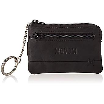 Movom Fantasy Coin Purse With Black Credit Card Port 11x7x1.5 cms Leather
