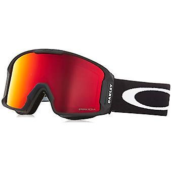 Oakley Lineminer 707002 0 Sportbrille, Schwarz (Matte Black/Prizmtorch), 99 Herren