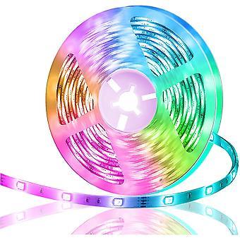 Led strip lights strip 16.4ft music sync dt4514