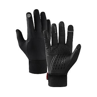 Ladies Winter Accessories Écran tactile Coupe-vent complet et gant chaud