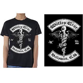 Motley Crue - Feelgood Hollywood Revision Herr X-Stor T-Shirt - Svart