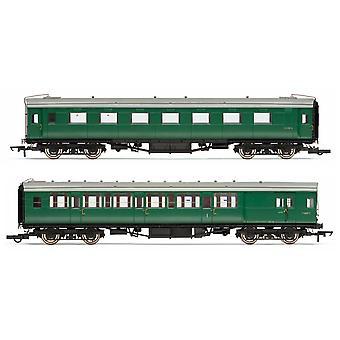 Hornby BR (ex-Maunsell) Vedä/työnnä linja-autopakettisarja 601 Era 5 -mallijuna
