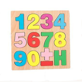 Zahl Platz pädagogische Puzzle-Spiel dt7437