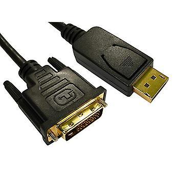 DisplayPort to DVI Cable 1m