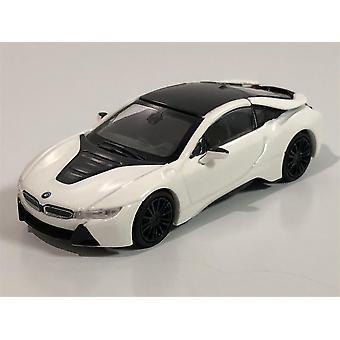 Minichamps 870028221 BMW i8 Coupe 2015 White Metallic 1:87 Scale