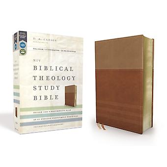 NIV Biblische Theologie Studie Bibel Leathersoft TanBrown Thumb Indexed Comfort Print Follow Gods Redemptive Plan as It Unfolds throughout Scripture by General Editor D A Carson & Assisted by Andrew David Naselli & Associate Editor T Desmond Alexander & Associate Editor Richard Hess & Associate Editor Douglas J Moo