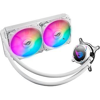 Asus ROG STRIX LC240 RGB 240mm nesteprosessorijäähdytin, Osoitettavissa RGB, 2 x PWM Tuuletin, Valkoinen