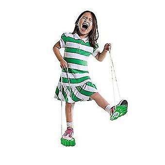 Children's Feet On Stilts Shoes Kindergarten Balance Training Sense Integration Equipment Toys