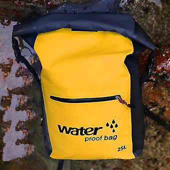 25L extérieur portable pliant sac à dos imperméable à l'eau sport rafting kayak canoë sac de voyage