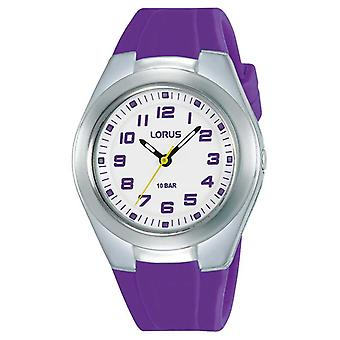 Lorus Kids Purple Silicone Strap and Dial RRX79GX9 Watch