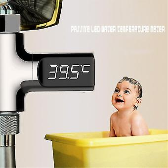Passive Led Temperature Display Thermometer Smart Digital Shower Accessories