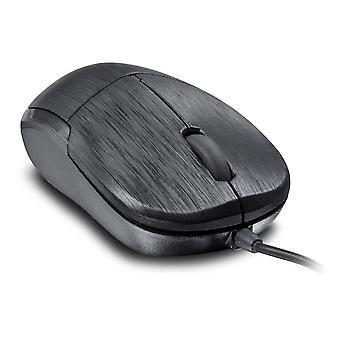 Jixster Three-Button 1000dpi Optical PC Mouse