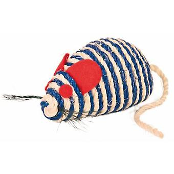 Trixie Mouse av Catniptreated sisal rope (katter, leker, mus)