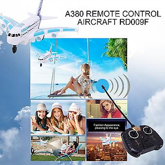 A380 Remote Control Aircraft Boys Airbus Toy Airplane Model Colorful Lights