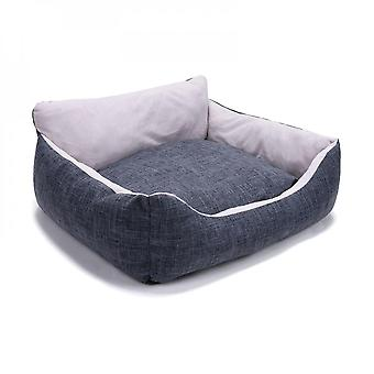 Super Soft Pet Sofa Bed House Warm Kennel Cushion Improved Sleep For Small Medium Dogs Cats