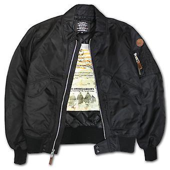Top Gun CWU 45 Flight Jacket Black