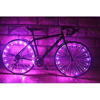 Led fietswielverlichting met batterijen inbegrepen