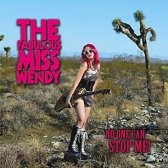 Fabulous Miss Wendy - No One Can Stop Me [CD] USA import